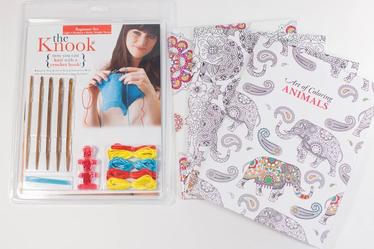 Adult Coloring Books and Knook Prize Pack