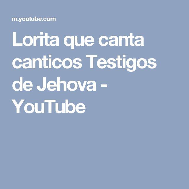 Lorita que canta canticos Testigos de Jehova - YouTube