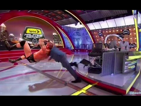 Shaq Falling Down Meme's on Inside the NBA on TNT. Seriously too funny