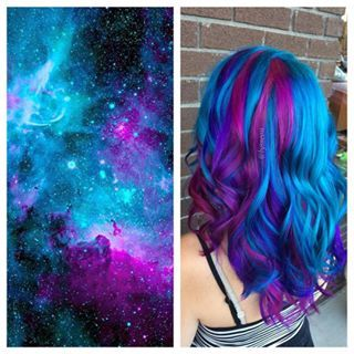 I'll pause and let you catch your breath. | Galaxy Hair Is Here And It's Going To Blow Your Mind