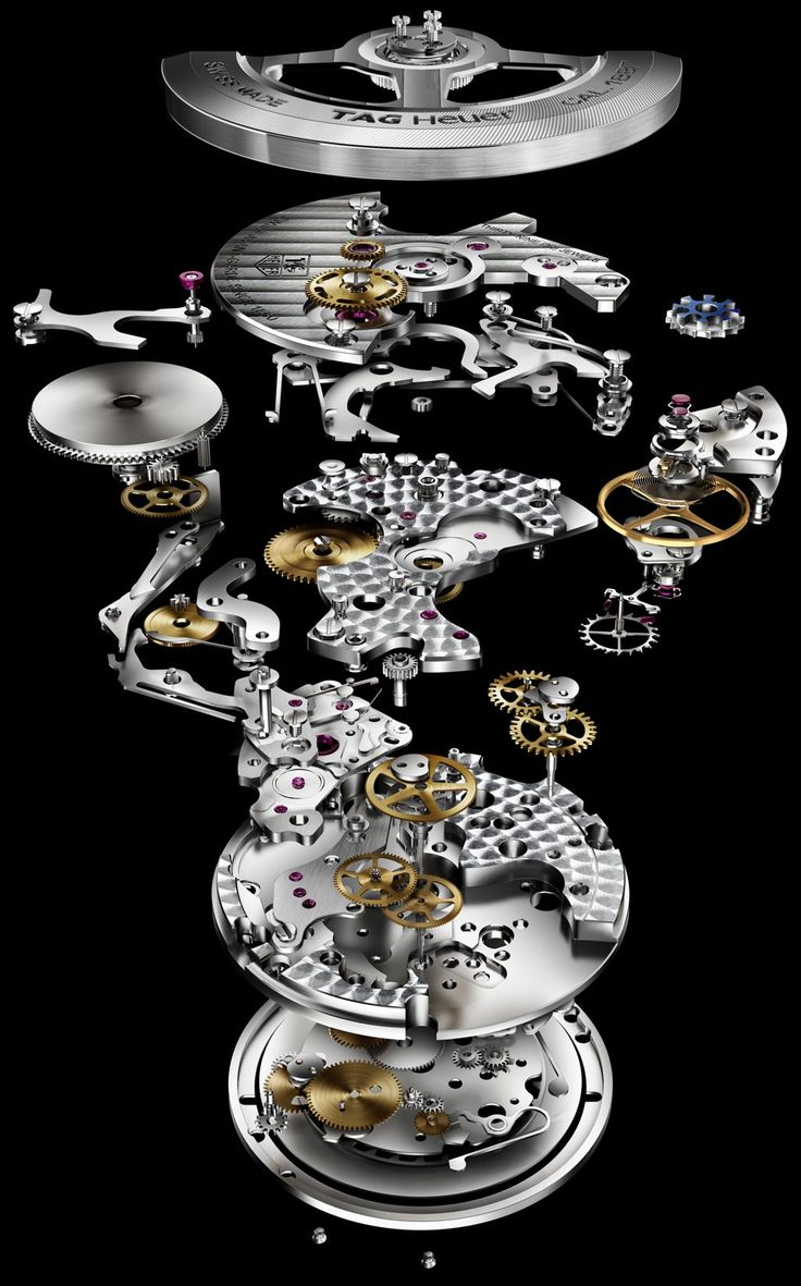 Tag Heuer Calibre 1887 watch movement