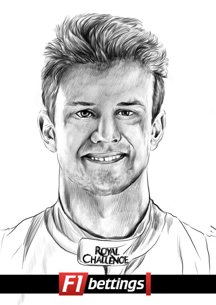 F1 driver Nico Hulkenberg f1-bettings.com