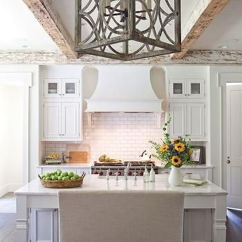 Kitchen Island Bench, Transitional, kitchen, Wellborn Cabinet