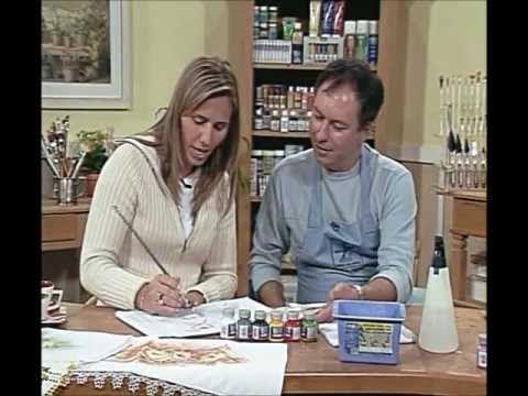 ARTE BRASIL -- LUIS MOREIRA -- MARGARIDAS EM TECIDO MOLHADO (16/05/2011 - Parte 1 de 2) - YouTube