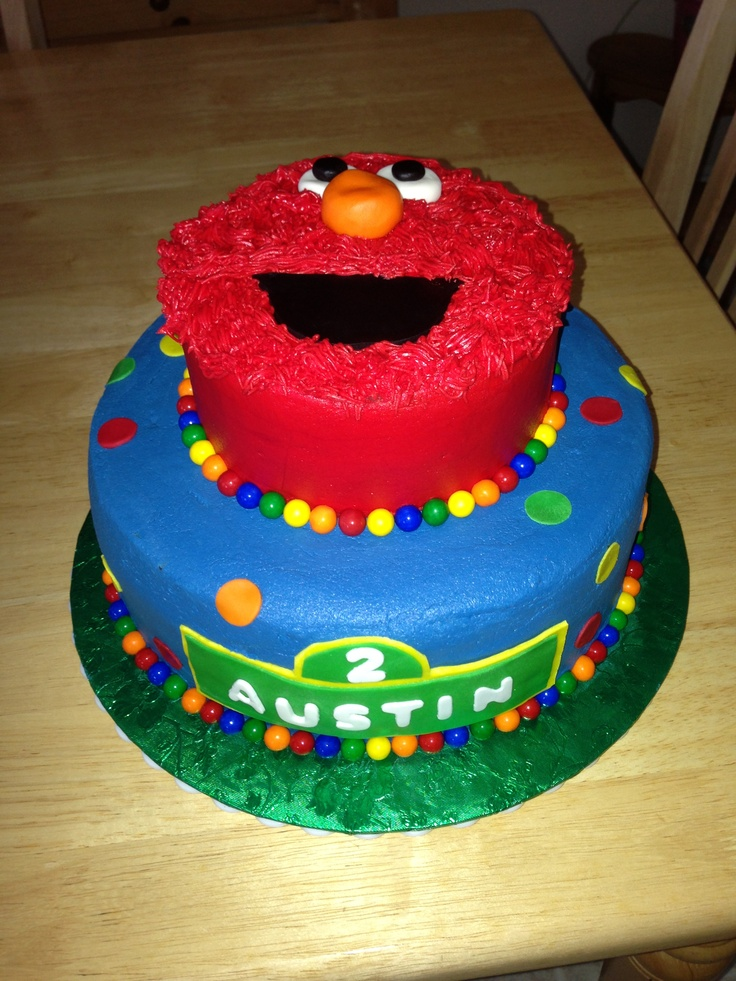 7 best images about elmo cakes on pinterest the smalls for Elmo template for cake