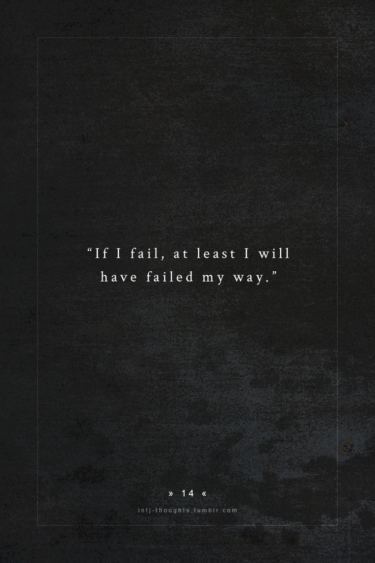 I really don't mind failing, as long as I can learn something from it.  Really though, I don't do it very often.