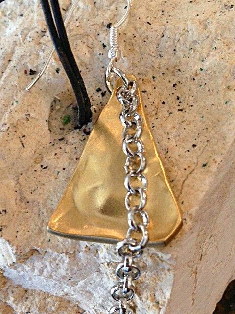 Handmade unique Metalwoork earrings