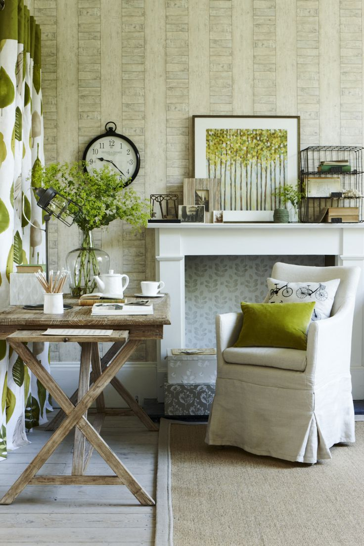NATURAL OFFICE GOODHOMES MAGAZINE SEPTEMBER 2012 STYLING EMMA CLAYTON PHOTOGRAPHY JOANNA HENDERSON