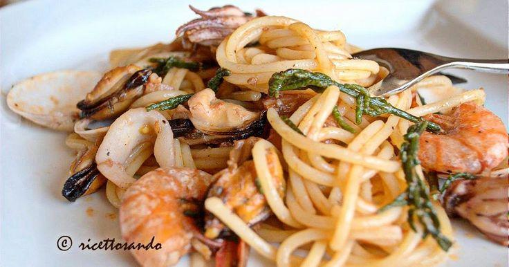 Ricettosando - ricette di cucina : Spaghetti allo scoglio