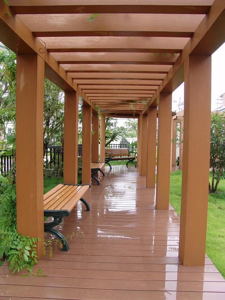 Buy A Pergola Kit With Composite Wood Materials Green From Recycled