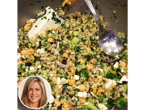 See What Jennifer Aniston Eats for Breakfast and Lunch (Photos) http://greatideas.people.com/2015/05/26/jennifer-aniston-diet-breakfast-lunch-recipe/