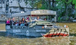 Groupon - Amphibious-Vehicle Tour of the Tennessee River for a Child or an Adult from Chattanooga Ducks (Up to 36% Off) in Downtown Chattanooga. Groupon deal price: $14