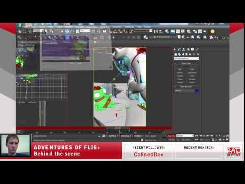 #14. Flig vs Candyeti: Animations in 3ds max #twitch #indie #indiedev #gamedev #aoflig #fligadventures #adventuresofflig #flig