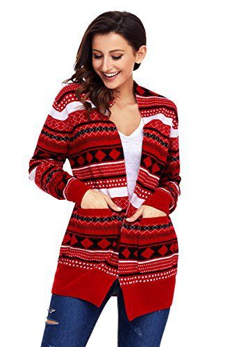 "Product review for SheShy Women Plus Size Christmas Sweater Open Front Long Sleeve Holiday Funny Cardigan Sweaters.  SheShy Merry Christmas Holiday Pullover Long Cardigans Long Sleeve Knit Sweater   	 		 			 				 					Famous Words of Inspiration...""I have always observed that to succeed in the world one should appear like a fool but be wise.""					 				 				 					Charles de Montesquieu 						—..."