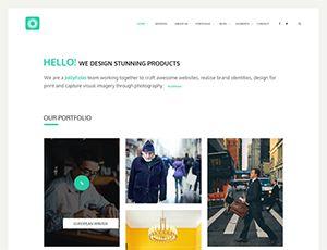 Site Templates - Jollyfolio - Agency & Freelance Portfolio Template | ThemeForest