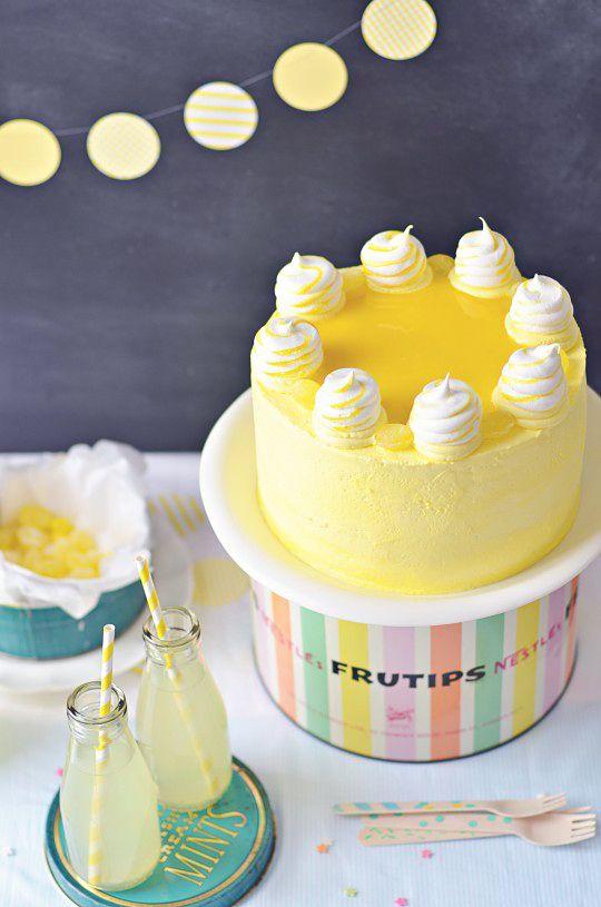 Lemon Delight Cake via Sweetapolita