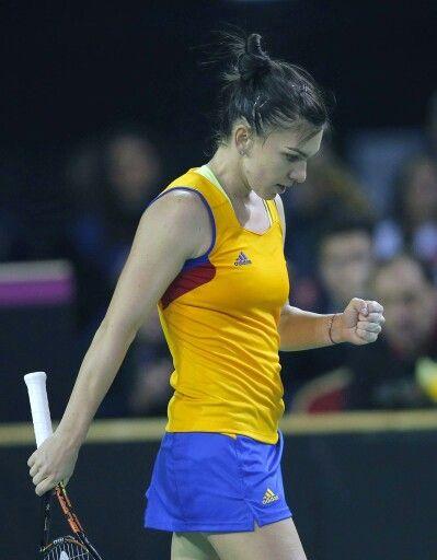 Simona Halep, Fed cup 2016