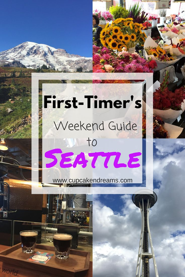 First-Timer's Weekend Guide to Seattle, Washington. What to do, see and eat in and around the Pacific Northwest city.