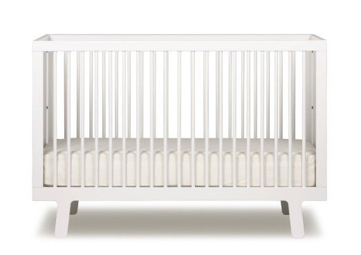 Another nice high-end option from Oeuf for those who are going all white.  Oeuf Sparrow Crib