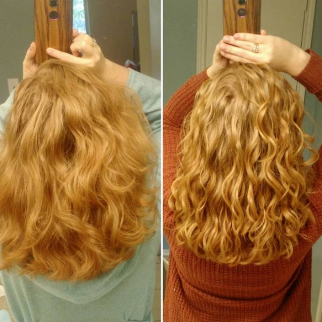 better waves in naturally wavy hair