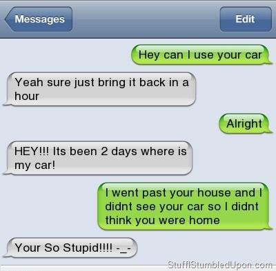 OMGosh!!   LOL  Book Of Quotes: How to Tell if Your Friend is a Moron