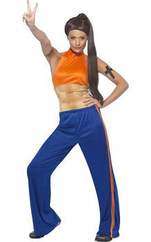 Sporty Spice Adult Costume                                                                                                                                                                                 Plus