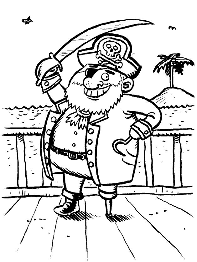 free pirate coloring page pirate coloring pages 39 printable coloring page