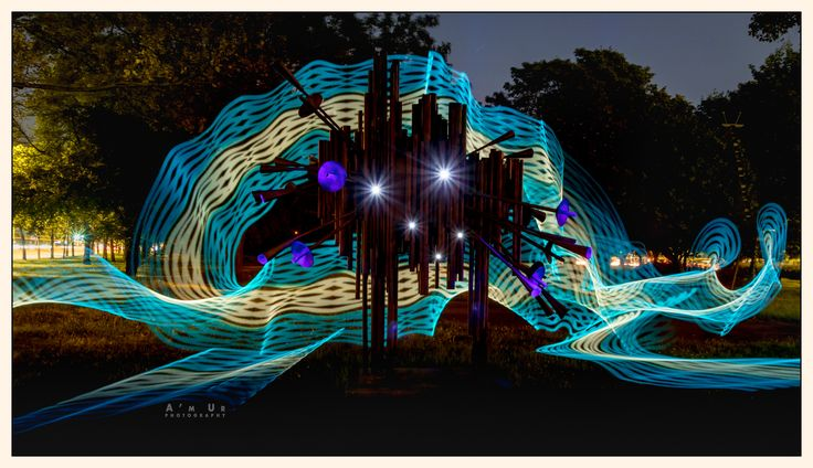 #lightpainting, #arkadio muralles fot. Arek Uriasz