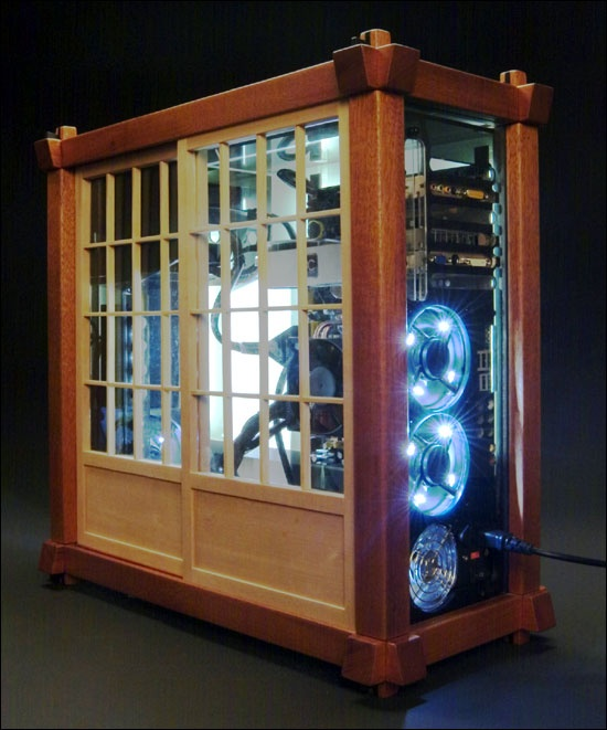 17 best images about wooden computer case on pinterest for Custom wood windows online