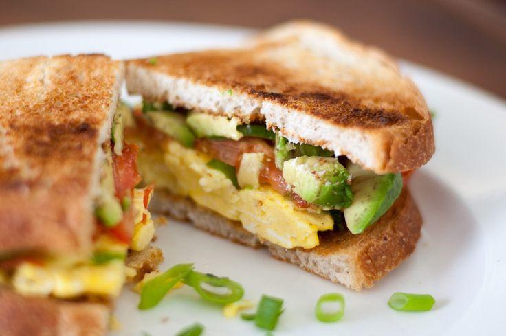 ... - Grown Up Breakfast Sandwich   Recipes - Breakfast Ideas   P