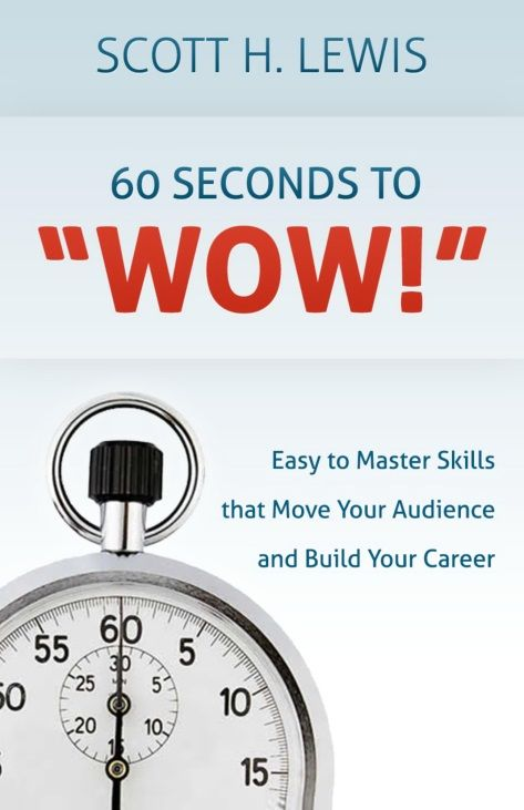 """What creates a presentation with impact?  Find out from Mr.Scott H. Lewis, managing director of the Signature CIS international training consultancy, author of """"60 Seconds to 'Wow!' (http://60secondstowow.com/), and inspiring speaker of our next W. Join us on July 24: https://www.facebook.com/events/207535846068609/"""