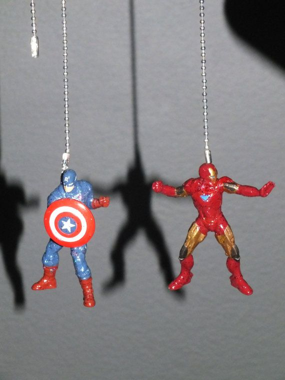 Avengers Fan/Light Pull Chains by DuckySuppliers on Etsy, $15.00