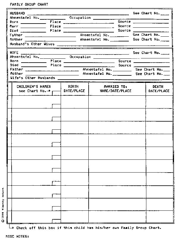 family group record template - 129 best images about genealogy forms on pinterest