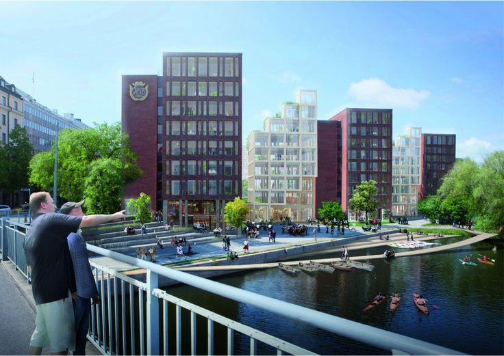 C.F. Møller And DinnellJohanssonu0027s Wooden Skyscraper Wins International  Competition Design Ideas