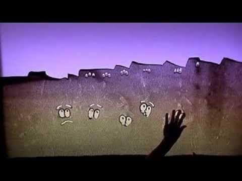 """Sandpainting Bibellesebund """"Die Pleite der Aramäer"""" - YouTube"""
