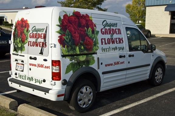Nissan Of Bellevue >> 17+ best images about Florist Delivery Van Graphics ...