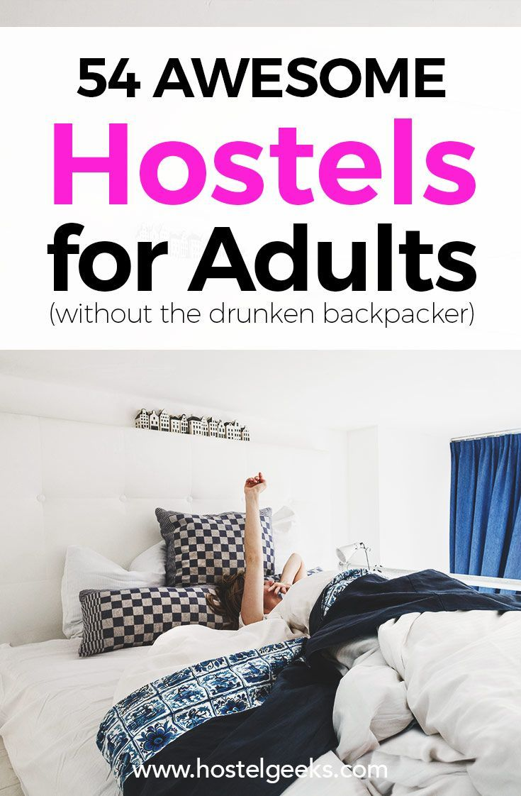 Find the best hostels for adults  https://hostelgeeks.com/5-star-hostels  best hostels in europe; best hostels in the world; ultimate list of best hostels; coolest hostels around the world; guide to staying at hostels; epic european hostels;top hostels;