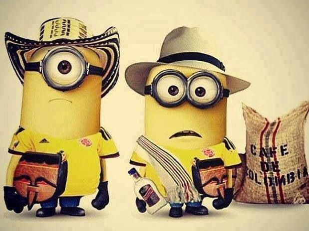 Colombian Minions>>>> this is gold