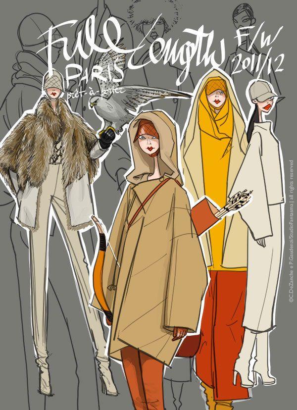 Fashion Shows f/w 2011/12 by Studio Fantasma, via Behance