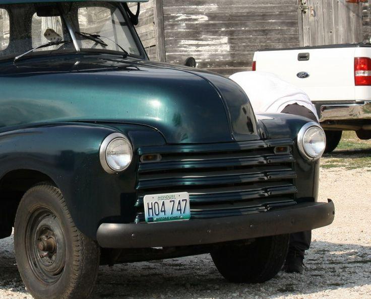 make chevrolet model other year 1953 body style pickup trucks exterior color green interior. Black Bedroom Furniture Sets. Home Design Ideas
