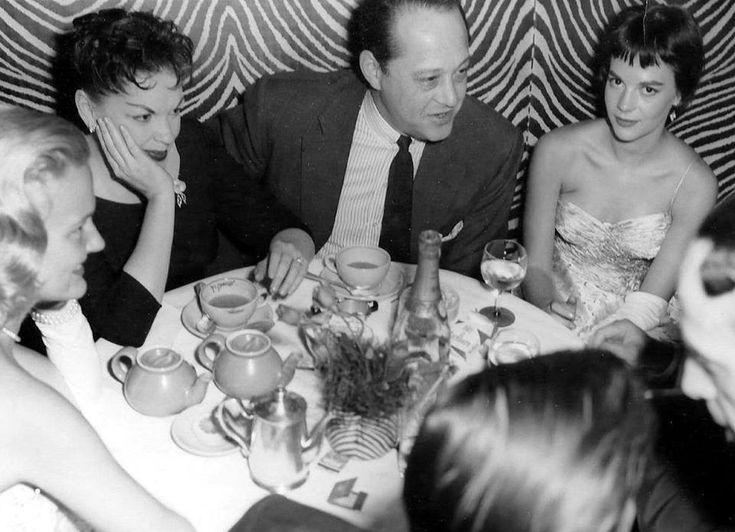 Judy Garland, Sid Luft and Natalie Wood