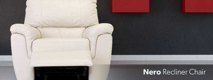 Nick Scali Nero Recliner Chair Beige Home Living