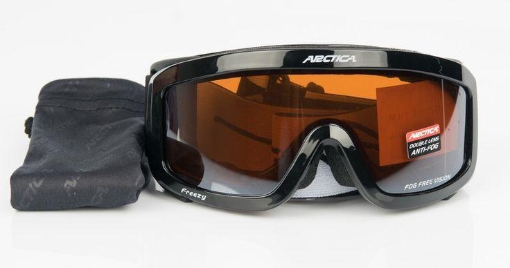 Arctica G-1001 G gyerek síszemüveg    Sisak kompatibilis!    Az Arctica G-1001 G gyerek síszemüveg lencséje polikarbonátból készült. Könnyű, vékony, tartós és ütésálló. A sí- és...