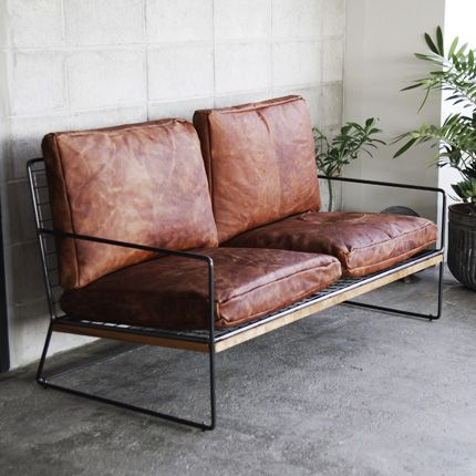 [HACHI] WI 2P SOFA - 【HACHI KAGU ONLINE SHOP】オリジナル家具・インテリア雑貨・革小物・観葉植物・ガーデン用品のオンラインショップ