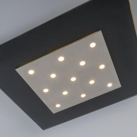 #Deckenleuchte Nero 2 #schwarz Ihr persönlicher #Sternenhimmel! Diese schlichte und moderne #Deckenleuchte Nero 2 bietet ein schönes #Licht und einen einzigartigen Look in Ihrem Zuhause. Die #Leuchte ist mit integrierten #LED-Modulen ausgestattet.  #lampenundleuchten.at