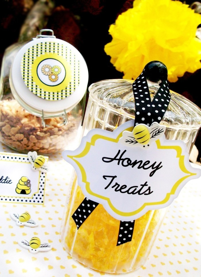 Bumble Honey Bee Party Snacks