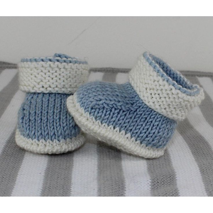 These Easy Baby Socks Are Knitted Flat On Straight Needles