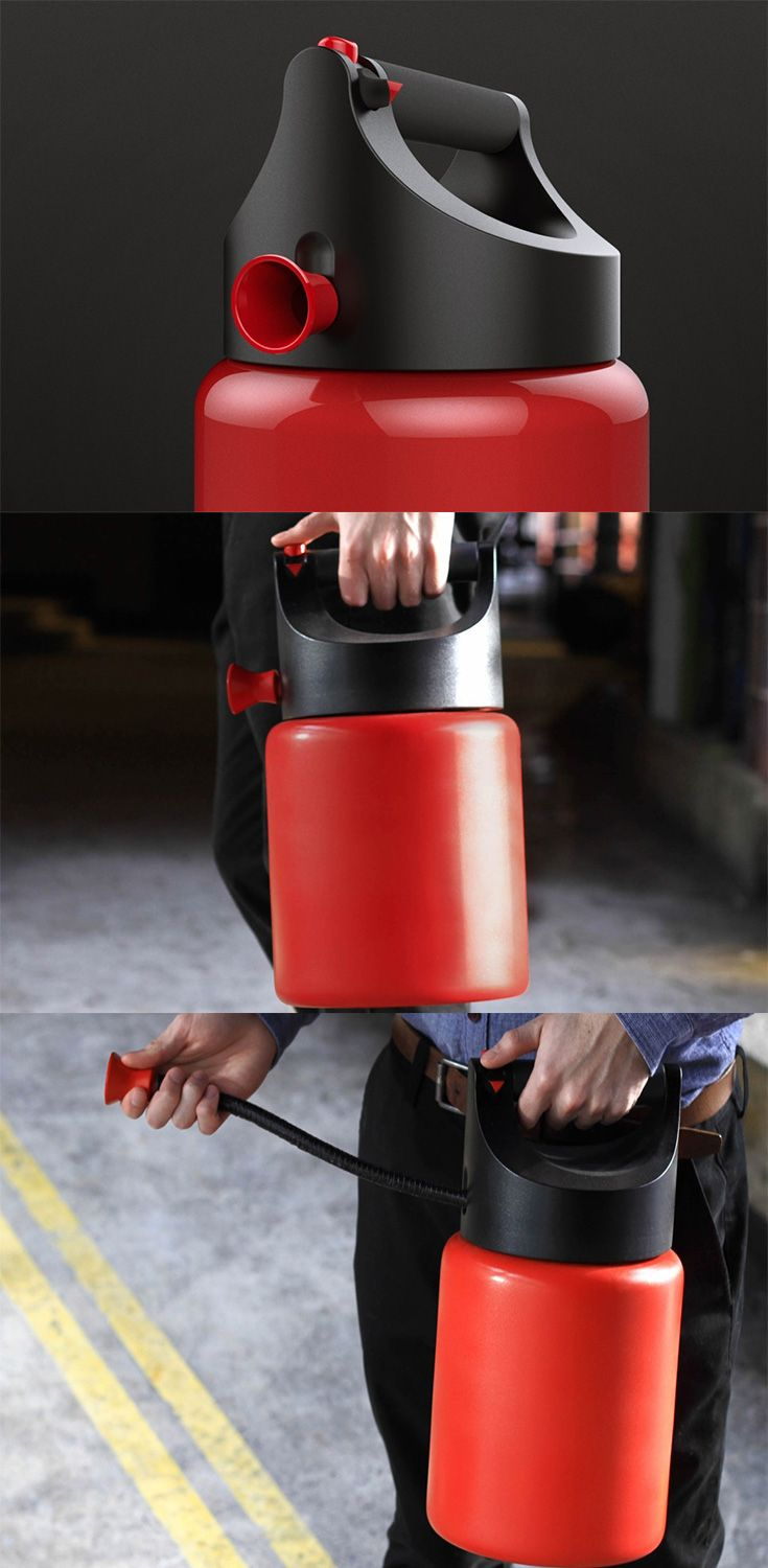 The 'Twist' creates a new type of extinguisher category that follows the norms of extinguisher design, but essentially creates a product that eliminates any sort of learning curve.... READ MORE at Yanko Design !
