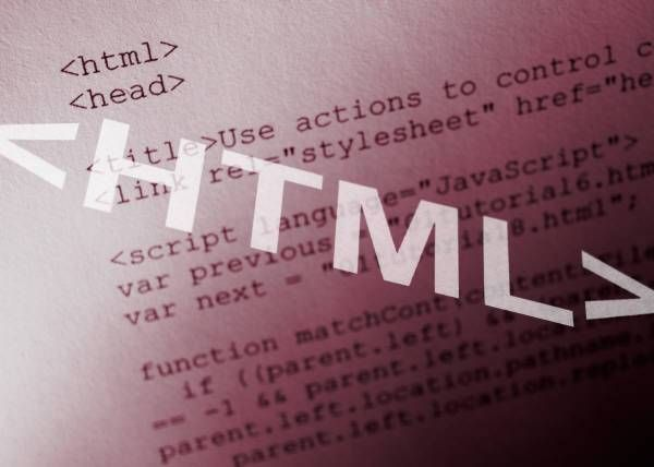 HTML - HyperText Markup Language. Yes be afraid.. just kidding. HTML is the main markup language for creating web pages and other information that can be displayed in a web browser. Simple as that. Read more about it and you will be the master of it. Yes, its a promise.