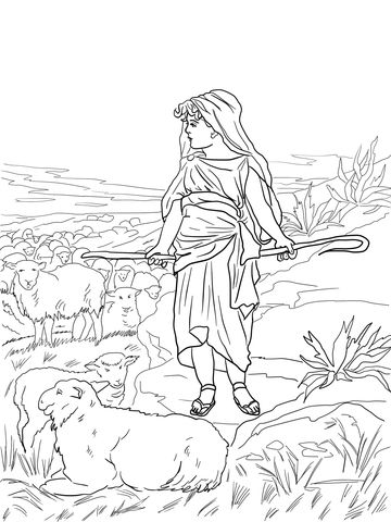 103 best David the Shepherd Boy images on Pinterest